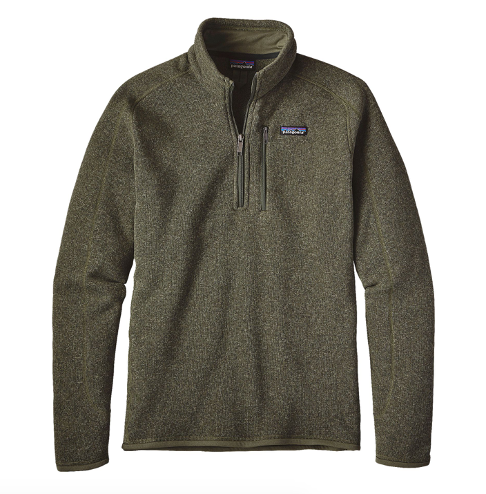 Patagonia Men's Better Sweater® 1/4-Zip Fleece - Industrial Green