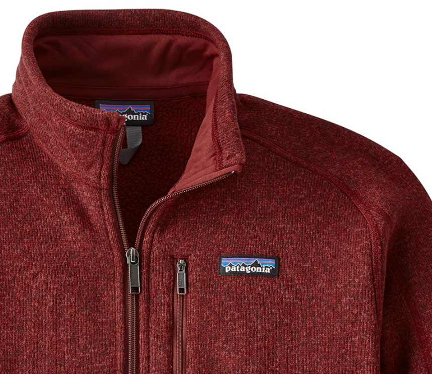 Patagonia Mens Better Sweater 14 Zip Fleece Oxide Red Krizia