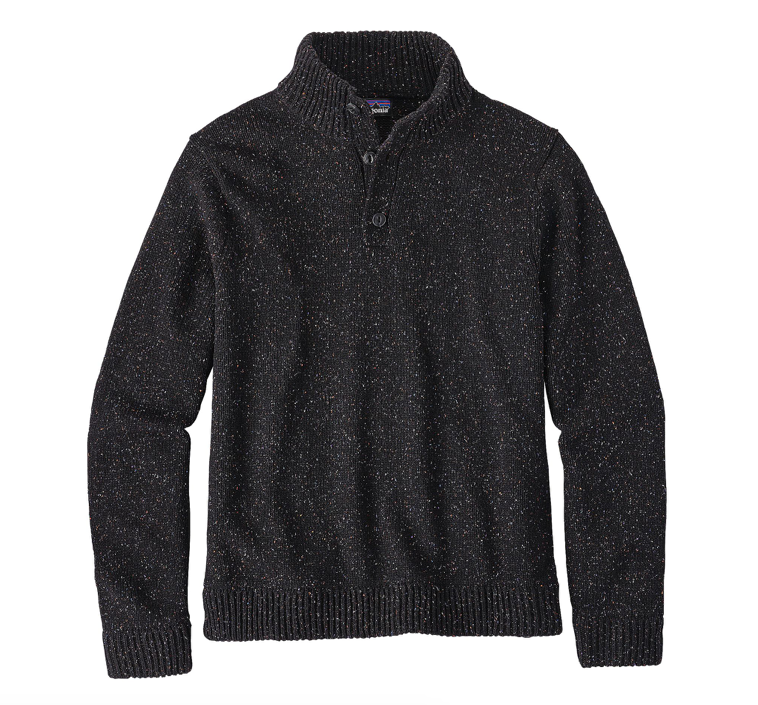 Patagonia Men's Off Country Pullover Sweater - Black