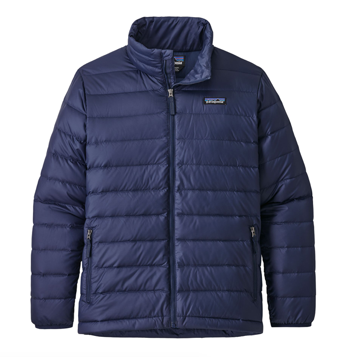 Patagonia Boys' Down Sweater Jacket - Classic Navy