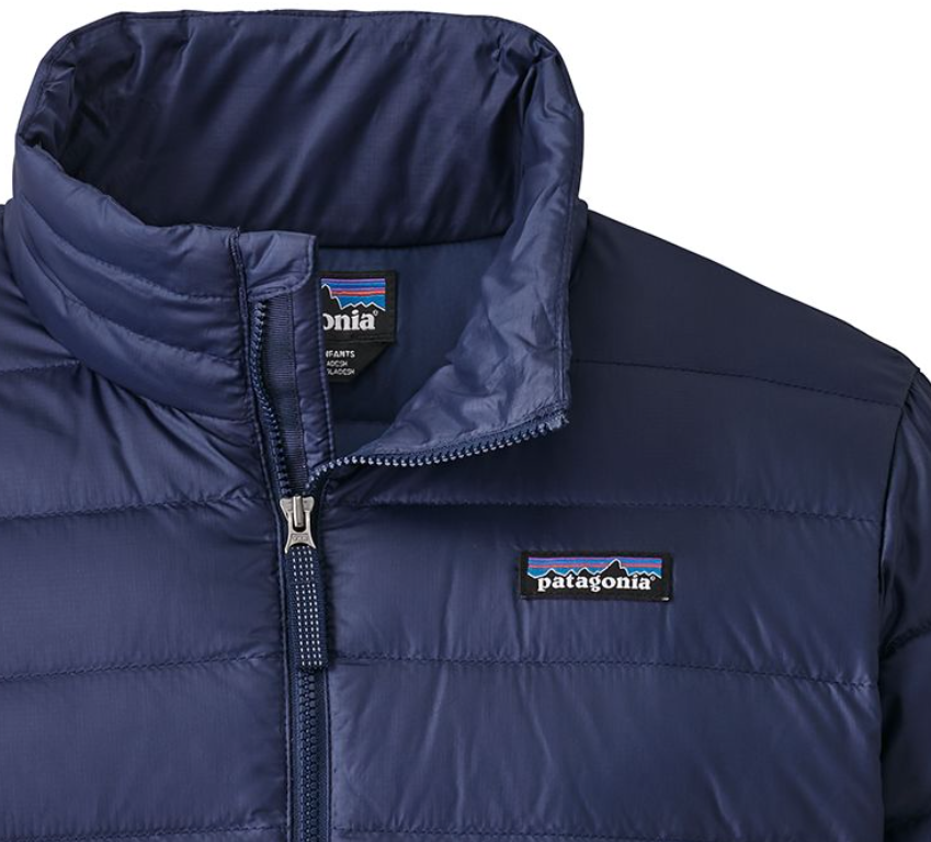 0274f91a5882 Patagonia Boys  Down Sweater Jacket - Classic Navy