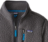 Patagonia Boys' Retro Pile Fleece 1/4-Zip - Forge Grey