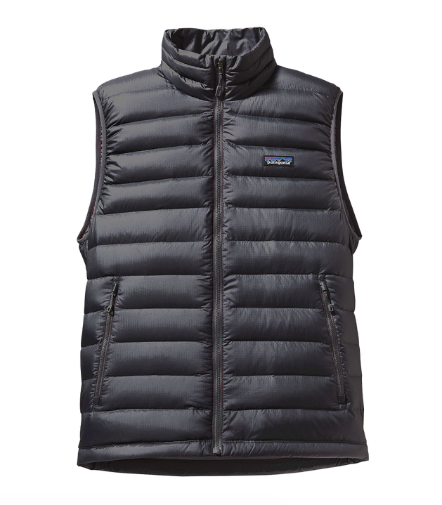 Patagonia Men's Down Sweater Vest - Forge Grey