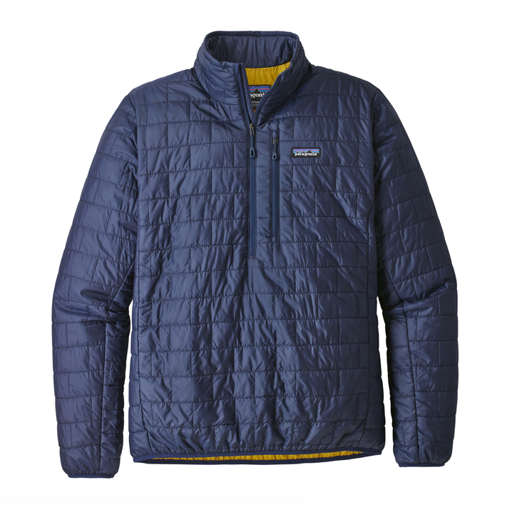 Patagonia Men's Nano Puff® Pullover - Classic Navy