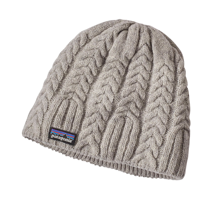 Patagonia Women's Cable Beanie - Drifter Grey