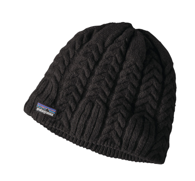 Patagonia Women's Cable Beanie - Black