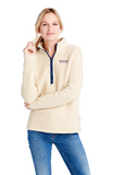 Vineyard Vines Sherpa Harbor 1/2-Zip - Camel