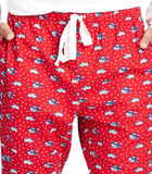 Vineyard Vines Men's Woody & Ski Whale Lounge Pants - Calypso Red
