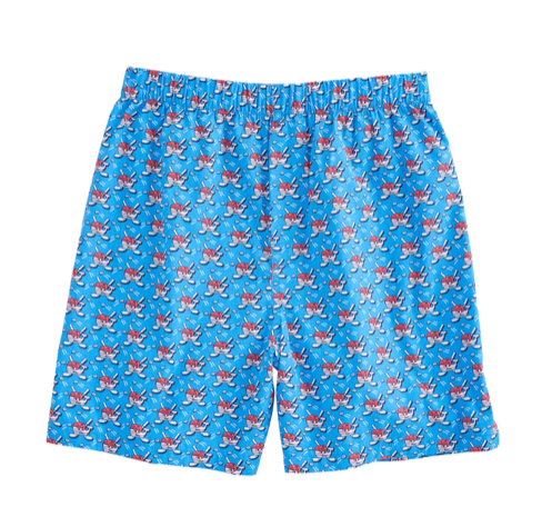 Vineyard Vines Hockey Whale Boxers - Hull Blue
