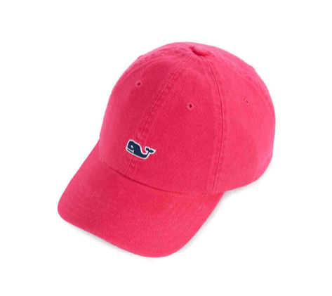 Vineyard Vines Womens Classic Twill Baseball Hat - Red Berry
