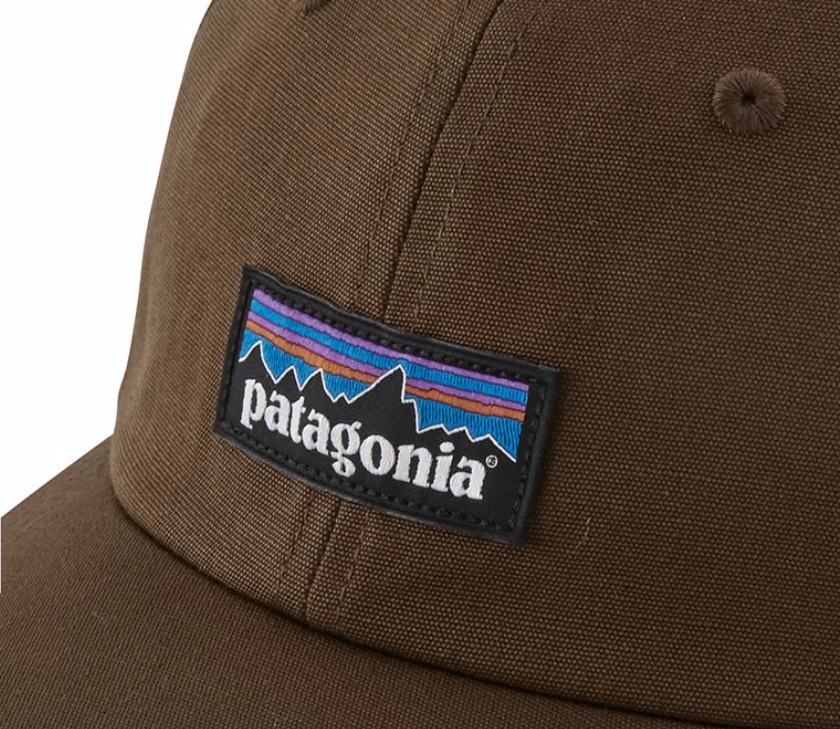 27e377d1 Patagonia P-6 Label Trad Cap - Timber Brown | Krizia Martin