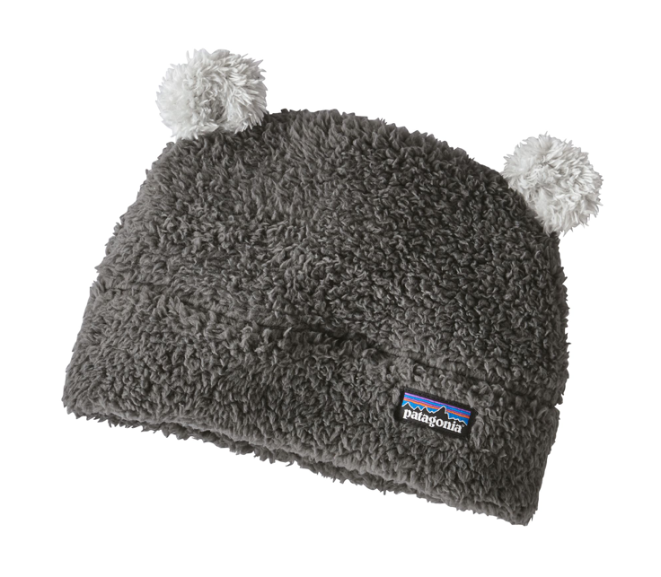 Patagonia Baby Furry Friends Hat - Forge Grey w/Drifter Grey
