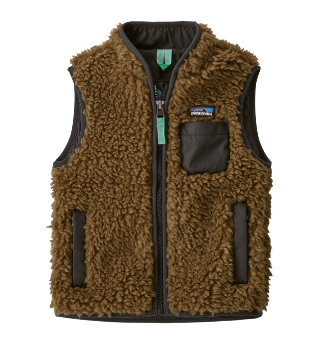 Patagonia Baby Retro-X® Fleece Vest - Coriander Brown