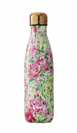 S'well Bottle with Lilly Pulitzer Print - In The Groves