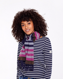 Joules Bracken Soft Handle Scarf - French Navy Stripe