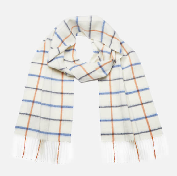 Barbour Country Tattersall Scarf - Arctic Plaid
