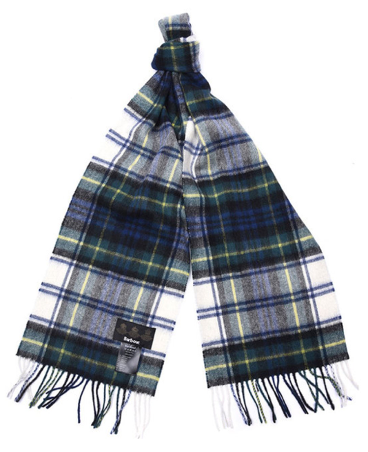 Barbour Shilhope Check Scarf - Green/Navy