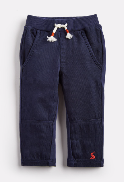 Joules Boy's Caro Jersey Woven Pants - French Navy