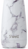 S'well Bottle White Marble Traveler