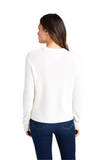 Vineyard Vines Cable Front Sweater - Frost