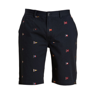 Barbour Flag Shorts - Navy