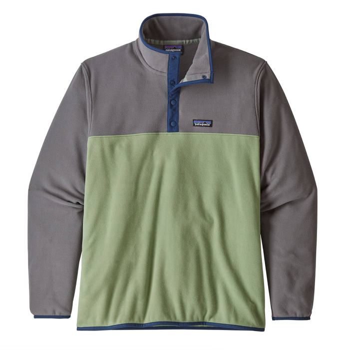 Patagonia Men's Micro D® Snap-T® Fleece Pullover - Matcha Green