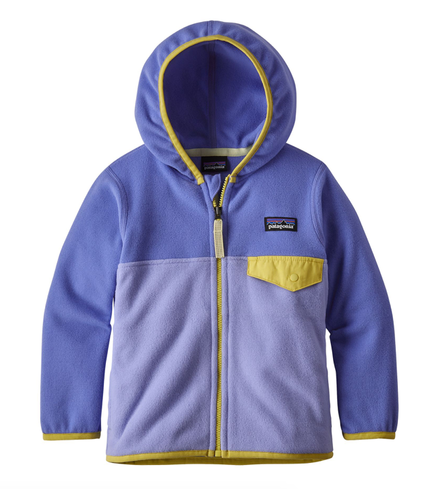 Patagonia Baby Micro D® Snap-T® Fleece Jacket - Light Violet Blue