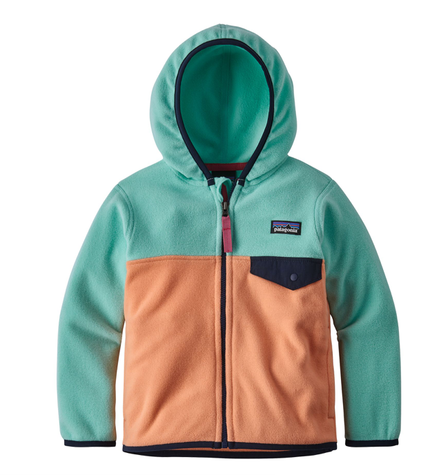 Patagonia Baby Micro D® Snap-T® Fleece Jacket - Peach Sherbet