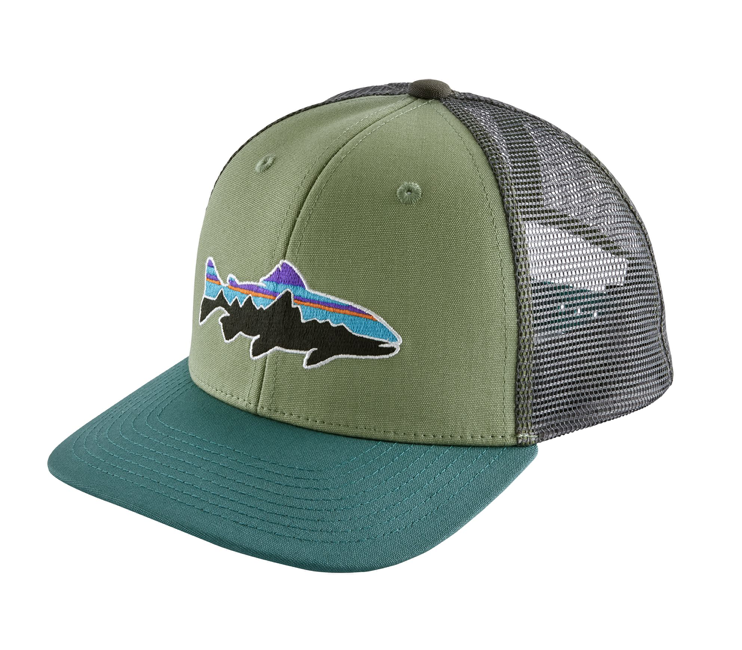 Patagonia Kids' Trucker Hat - Fitz Roy Trout
