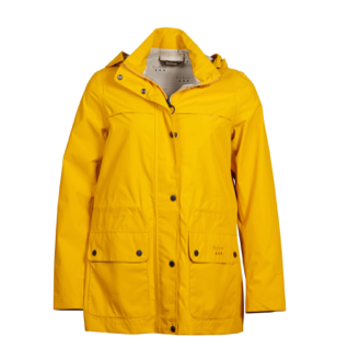 Barbour Drizzel Waterproof Breathable Jacket - Canary Yellow