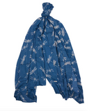 Barbour Dragonfly Wrap - Blue Heaven