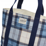 Barbour Kirkaldy Bag - Fade Blue Tartan