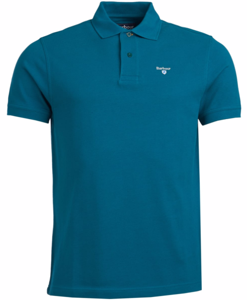 Barbour Men's Sports Polo - Spruce