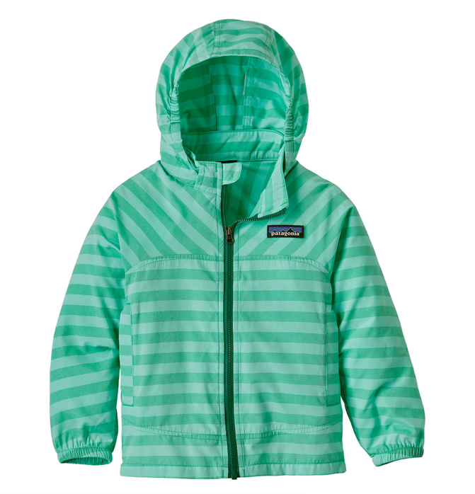 Patagonia Baby High Sun Jacket - Nettle Green