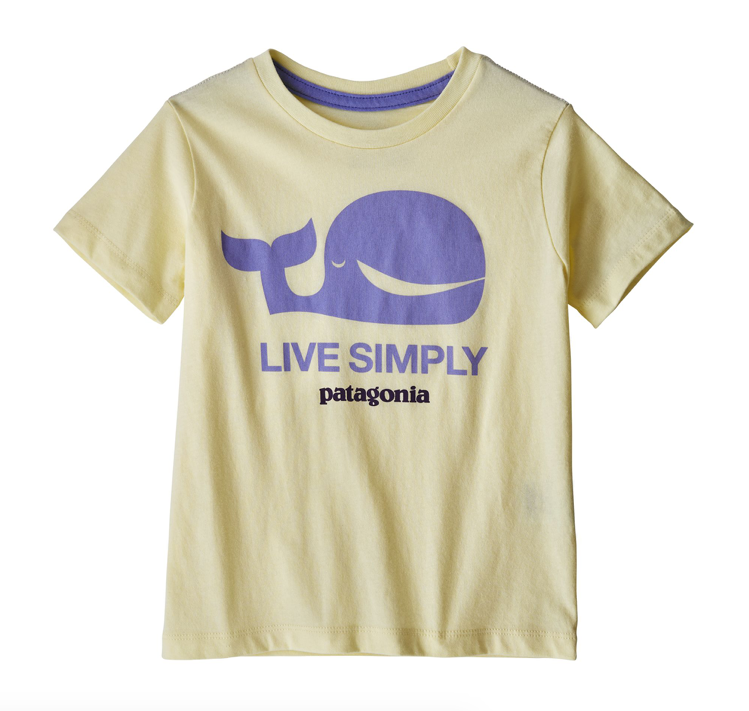 Patagonia Baby Live Simply® Organic Cotton T-Shirt - Whale