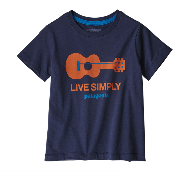 Patagonia Baby Live Simply® Organic Cotton T-Shirt - Guitar