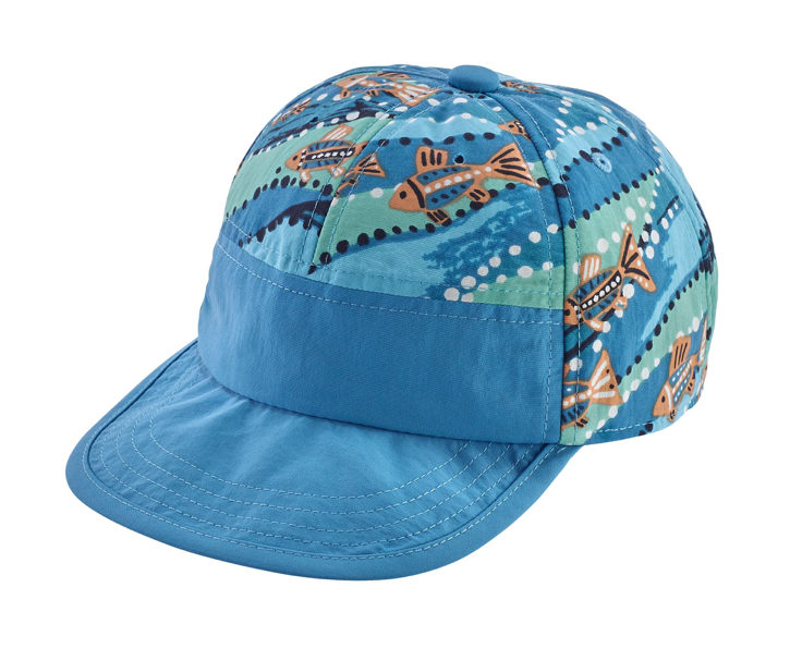 Patagonia Baby Baggies™ Cap - Bell Bay Port Blue