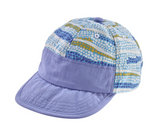 Patagonia Baby Baggies™ Cap - Button Grass Break Up Blue