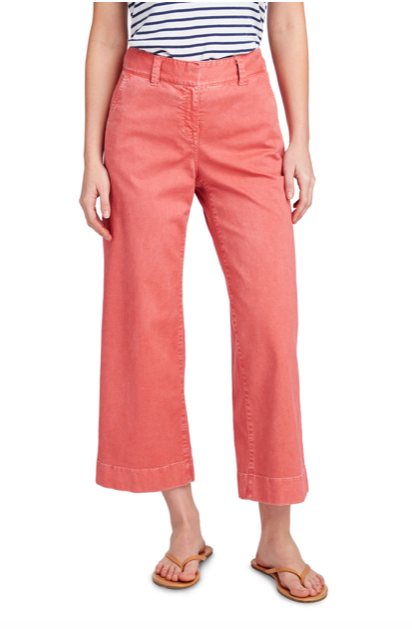 Vineyard Vines High Waist Cropped Chino Pants - Lobster Reef