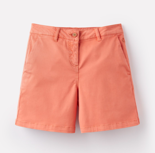 Joules Cruise Mid Thigh Length Chino Shorts - Orange