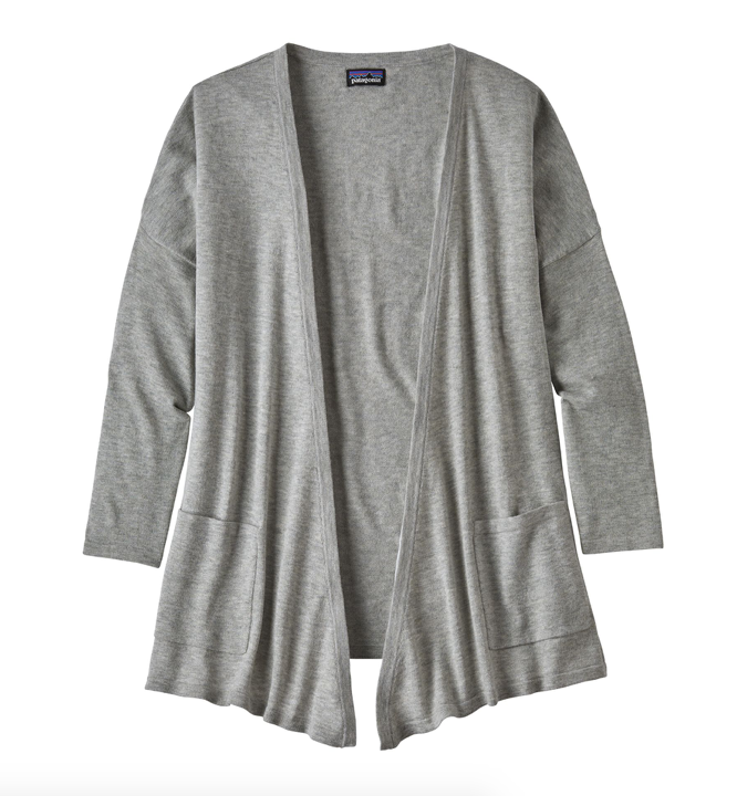 Patagonia Women's Low Tide Cardigan - Tailored Grey