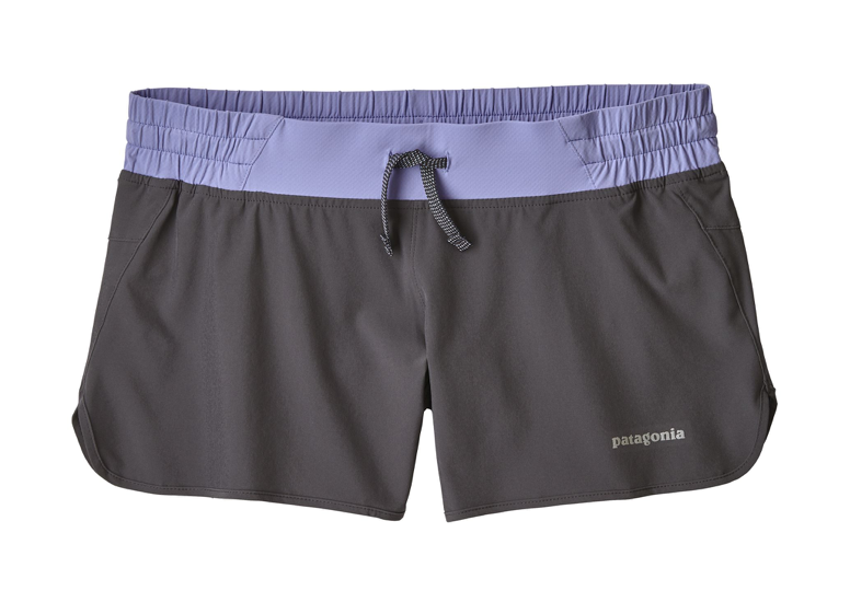 "Patagonia Women's 4"" Nine Trails Shorts - Smolder Blue"