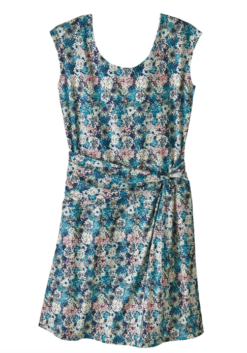 Patagonia Women's Seabrook Twist Dress - Furnai Floral