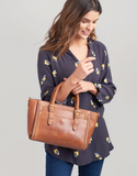 Joules Hathaway Mini Leather Everyday Bag - Tan