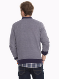 Southern Tide Pacific Twill Crewneck Sweater - True Navy