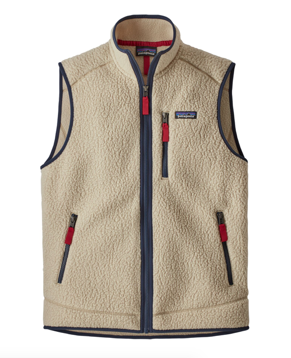Patagonia Men's Retro Pile Fleece Vest - El Cap Khaki