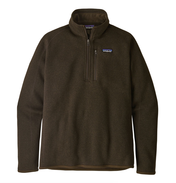 Patagonia Men's Better Sweater® 1/4-Zip Fleece - Logwood Brown