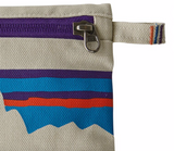 Patagonia Zippered Pouch - P-6 Fitz Roy Bleached Stone