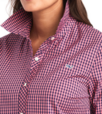 Vineyard Vines Alicetown Gingham Chilmark Classic Button Down - Paradise Pink