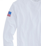 Vineyard Vines Sailing Long-Sleeve Performance T-Shirt - White Cap